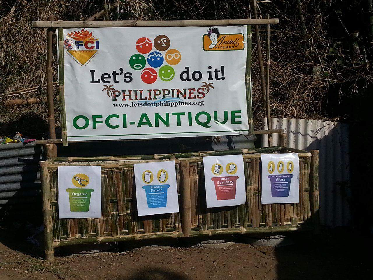 This same waste receptacles will soon be made available at the Barangay Plaza of Mapatag, to be handled by the youth volunteers.
