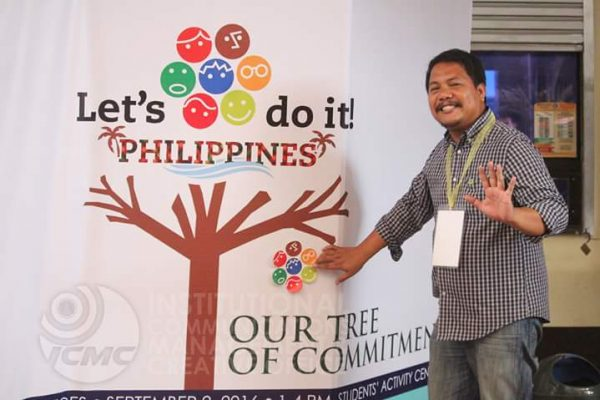 This is Dann Diez, initiator in the Philippines, as copied from Let's Do It Newsletter.